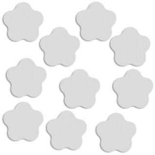 Placa de aluminio para coletero forma flor