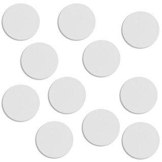 Placa de aluminio Ø 37 mm para brazalete y candado redondos