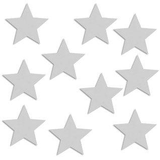 Placa de aluminio para brazalete estrella