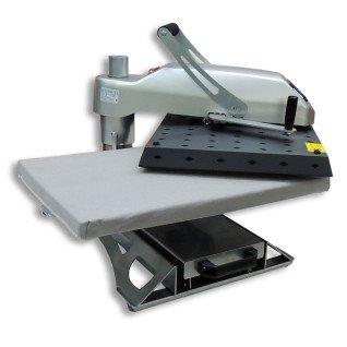 Planchas manuales giratorias con plato inferior extraíble Brildor XH-A4.1 - Sistema giratorio