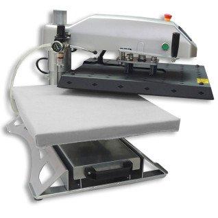 Planchas neumáticas giratorias con plato inferior extraíble Brildor XH-B1.2 - Sistema giratorio