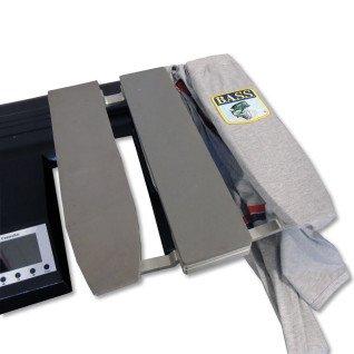 Plato para mangas y pantalones para plancha transfer manual Brildor de doble plato - Con manga