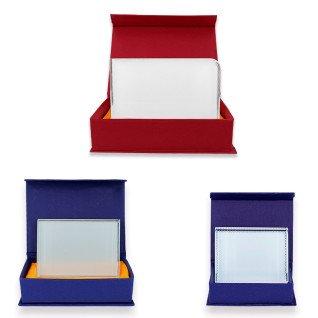 Portafotos para sublimación de cristal rectangular