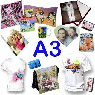 Propuesta de compra inicial personalizables para sublimación A3