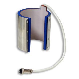 Resistencia de calor cilíndrica para tazas de 10-11oz para plancha para 2 tazas FreeSub