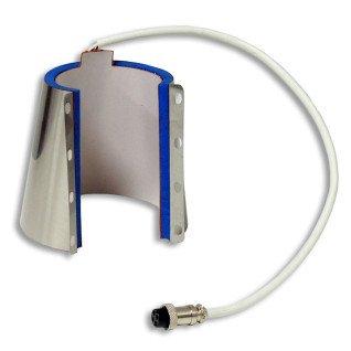 Resistencia de calor cónica para tazas de 12oz para plancha para 2 tazas FreeSub