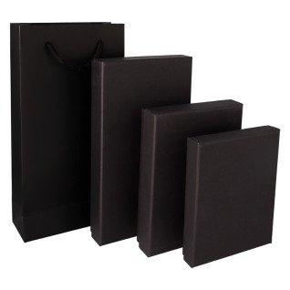 Sets de caja y bolsa para carteras, monederos y billeteros