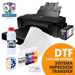 Sistema de impresión por transfer DTF - CADlink Edition