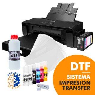 Sistema de impresión por transfer DTF - Pack ahorro A3 - REACONDICIONADO