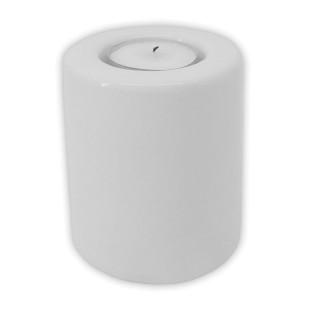 Soporte de cerámica para velas Ø 75 x 100 mm- Sin personalizar