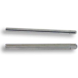 Soporte de metal para panel acrílico - Detalle soporte de 5 y 7 mm