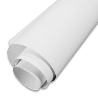 Tejido de poliéster imprimible autoadhesivo removible 245µ - 1m x 137cm