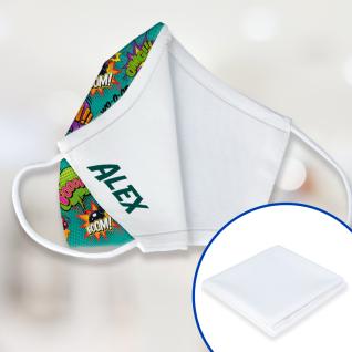 Tela para interior de mascarillas 65% poliéster / 35% algodón con filtro antibacteriano