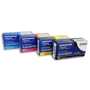 Tinta Epson para impresora TM-C3500