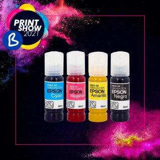 Tintas de sublimación Epson en botella de 90ml - BPrint Show 2021