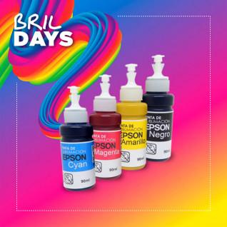 Tintas de sublimación Epson en botella de 90ml