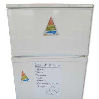 Vinilo magnético Pizarra PVC Blanca - Lista compra