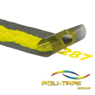 Vinilo Sandblast Poli-Mask Materiales Flexibles - aplicado