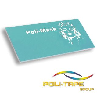 Vinilo Sandblast Poli-Mask Materiales Rígidos - aplicado