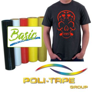 Vinilo Textil Basic Brillo Fashion de Poli-tape