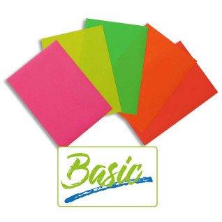 Vinilo Textil Basic Fluor - Pack de 10 hojas A4
