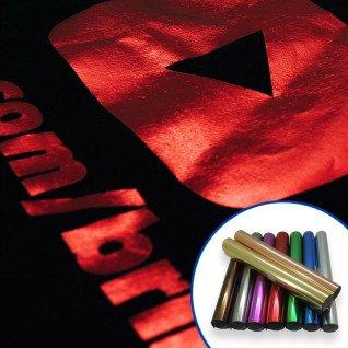 Vinilo textil en colores Metálico Brillo