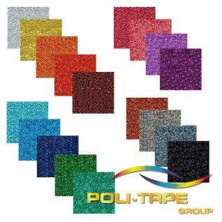 Vinilo Textil Pearl Glitter de Poli-tape - Por metros
