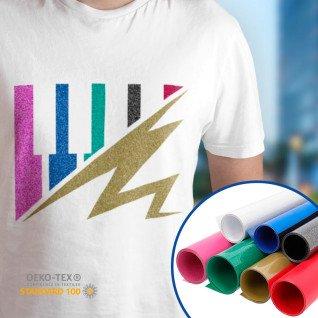 Vinilo Textil Glitter de Poli-tape - Por metros
