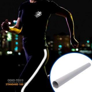 Vinilo textil Poli-Flex® Nylon de Poli-tape - Plata reflectante