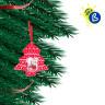 Adornos navideños de tela - Ejemplo de personalización