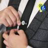 Alfiler de corbata para sublimación - Ejemplo de uso y personalización