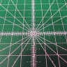 Alfombrilla de corte circular giratoria de 35cm - Detalle escala