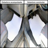 Alfombrilla delantera para coche - Ejemplo en coche