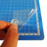 Alfombrillas de corte adhesivas - Protector transparente