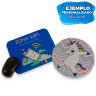 Alfombrillas de ratón económicas - Ejemplo de personalización