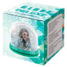 Bola de nieve con foto modelo Deluxe - Caja de presentación verde