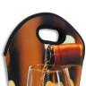Bolsa para dos botellas - Detalle asas