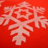 Bolsa TST navideña asas largas - Detalle tejido