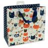 Bolsas de regalo diseño gatos - Reverso