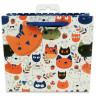 Bolsas de regalo diseño gatos - Plegada - Vista frontal