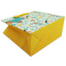 Bolsas de regalo diseño mariposas - Fuelle y base