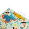 Bolsas de regalo diseño mariposas - Tarjeta, colgador y cinta