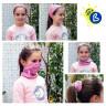 Bragas de cuello para sublimación de niños - Ejemplos de uso y personalización