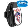 """Brazalete deportivo ajustable para móviles de hasta 6"""" - Ejemplo de personalización"""