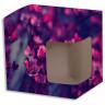 Caja de cartón con ventana sublimable para tazas - Caja personalizada ejemplo