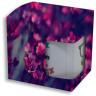 Caja de cartón con ventana sublimable para tazas - Caja personalizada con taza en el interior