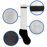 Calcetines de niño base negra para sublimación - Detalle tela