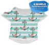 Camiseta de chica Cute - Ejemplo personalizado estampación completa