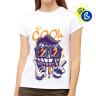 Camiseta de mujer K22 100% algodón 145g - Ejemplo de personalización