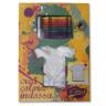Camiseta infantil para colorear dibujo Mariposa - Presentación